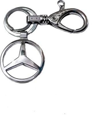Ezone Mercedess Locking Key Chain(Silver) Locking Key Chain
