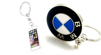 99DailyDeals R90 Combo Of 2 Keychain Iphone And Bmw Key Chain