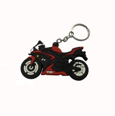 Accessory Bazar ABZR Yahama F1 Rubber Key Chain Key Chain