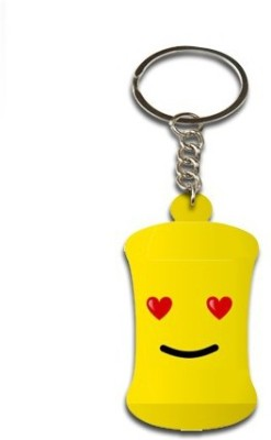 Onlineworld Smiley Face Bottle Shape-02 Key Chain