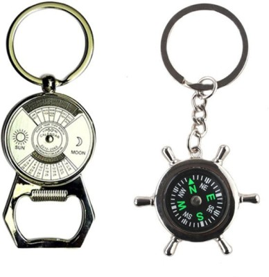 Alexus Calender Opener And Compass Key Chain