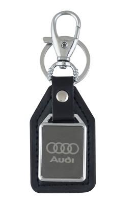 PARRK Audi Mirror leather Locking Key Chain