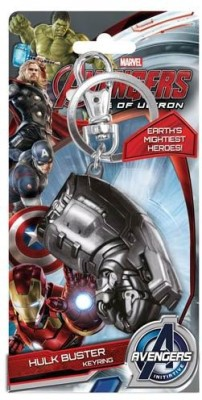 Marvel Official Avengers: Age of Ultron Hulkbuster Fist Pewter Key Chain