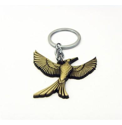 Optimus traders Hunger Games Catching Fire Logo Mockingjay Vintage metal Key Chain