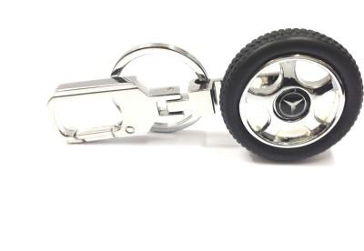 Kairos Mercedes Benz Tyre Rotary Wheel Key Chain