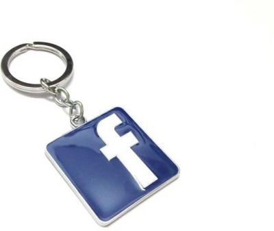 Turban Toys Facebook Logo Rubber Key Chain