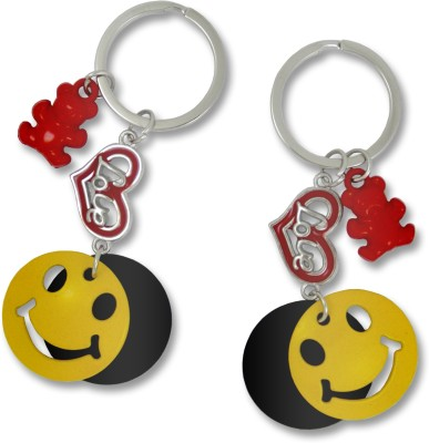Get Fatang Happy Smiley Love for HIM and HER Valentine Key Chain