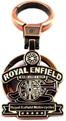 SURAJ ENTERPRISES Royal Enfield metal keyring for cars and bikes Locking Key Chain