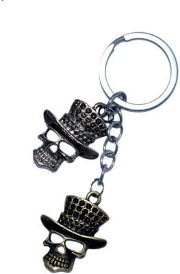 JDK Double Skull Design Key Chain