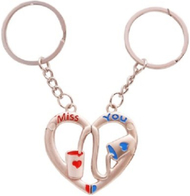True Traders miss you love couple keychain Key Chain
