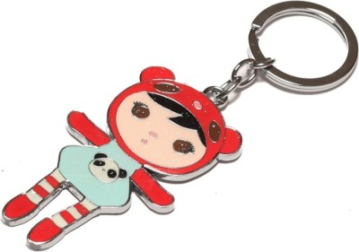 Thinksters Red Doll Keychain Carabiner
