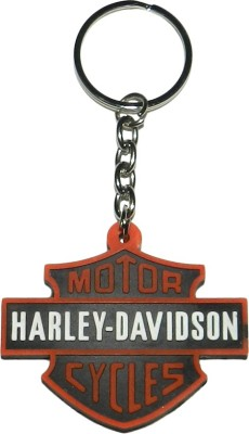 Techpro Singlesided Harley Davidson Motorcycle Key Chain