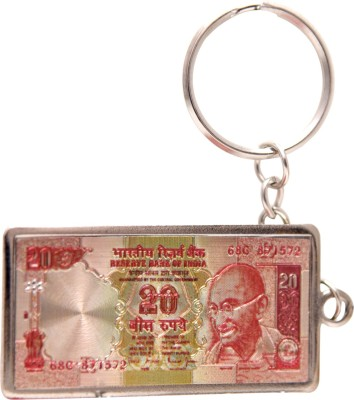 Oyedeal Rs 20 Artificial Indian Currency KYCN1653 Key Chain