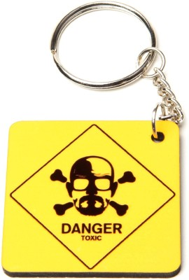 THINKSTERS Danger sign keychain Carabiner
