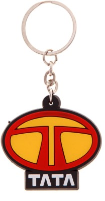 VeeVi Silicon Tata Car logo Key Chain Key Chain