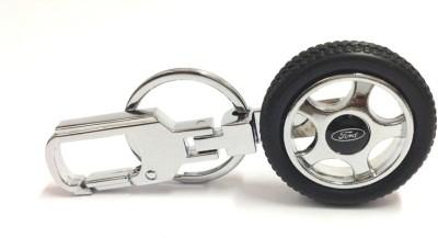 Kairos Ford Tyre Rotary Wheel Key Chain