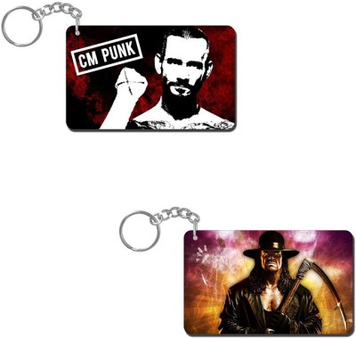 Lovely Collection Cm Punk Artistic Key Chain