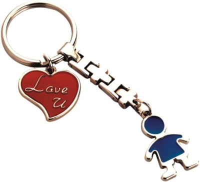 THINKSTERS Boy with heart keychain Carabiner