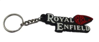 Aditya Traders Attractive Royal Enfield Rubber Ring Key Chain