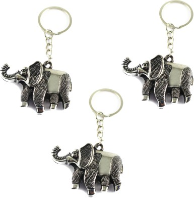 Target Retail FENGSHUI ELEPHANT KEYRING Key Chain(Multicolor)