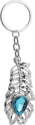 Bajya Diamond Feather Key Chain