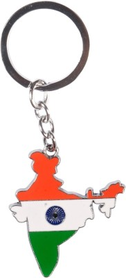 Oyedeal Map of India Metal Key Chain