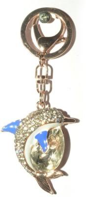 Odisha Bazaar Handbag Buckle Charms Accessories Blue Lucky Dolphin Key Chain