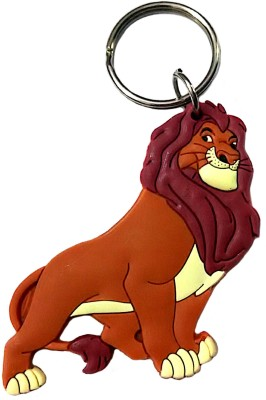 FCS Lucky Lion King Rubber Key Chain