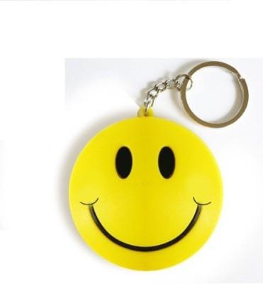 Ezone Smiley Key Chain(Yellow, Black) Key Chain