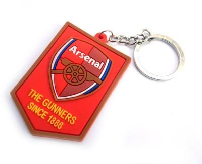 Techpro Singlesided Arsenal Logo Key Chain