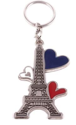 VeeVi Eiffel Tower Love Key Chain