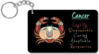 Lovely Collection Zodiac Sign Cancer Key Chain