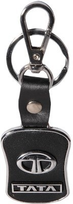 Kairos Premium Quality TATA Leather Key Chain