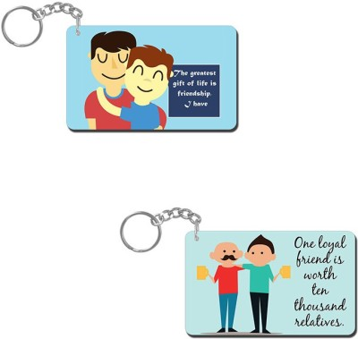 Lovely Collection Friendship Is A Gift Key Chain