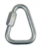 Petzl Steel Delta N10 Locking Carabiner ...
