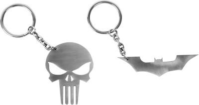 Castor Batman Punisher Locking Key Chain
