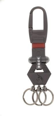 VeeVi Post Horse Black Metal Hook Keychain Locking Carabiner