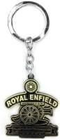 Tech Pro Metal Golden Colour Royal Enfield Key Chain(Multicolor)