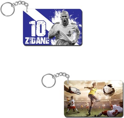 Lovely Collection Zidane Artistic Key Chain