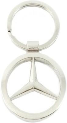 Shop & Shoppee Mercedes Ring Metal Key Chain