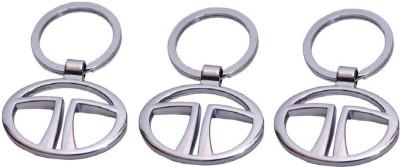 PARRK Tata Silver Metal KE2 Key Chain