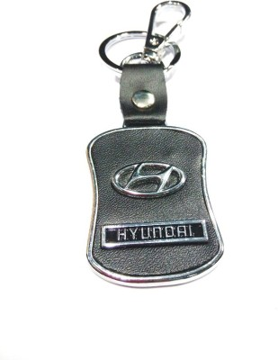 Prime Traders Hyundai Leather Imported Locking Key Chain