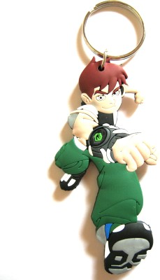 Optimum Deal Cute Ben10 Cartoon Character Double Sided Rubber Key Chain