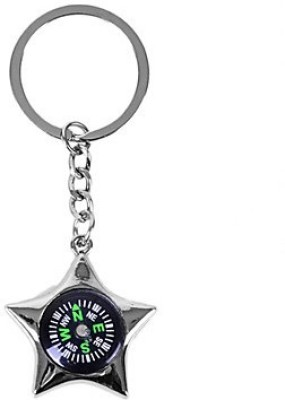 Ezone Star Look Compass Key chain Carabiner