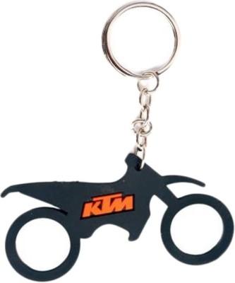 Confident Top Speed Riders Ktm Bike Key Chain