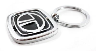 Aditya Traders Classy TATA 360 degree Rotating Double Sided Original Metal Attractive Key Chain