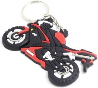 Abzr Yahama Speed Bike Rubber Keychain Key Chain