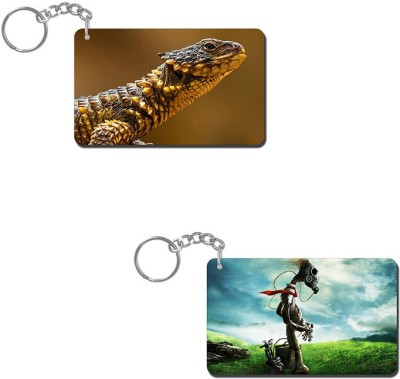 Lovely Collection Wild Lizard Key Chain