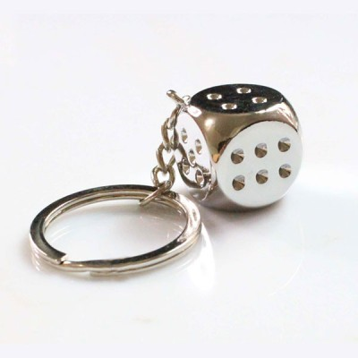 ShopeGift Single Dice Key Chain