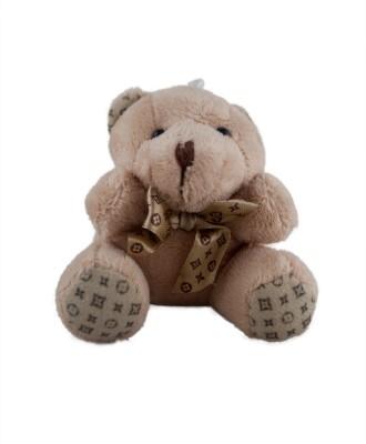 Forty Creek Creamy Colour Fluffy Teddy Bear Key Chain
